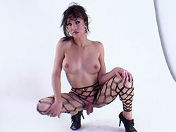 Bts of nets Seductive Jonelle in pantyhose. Jonelle Brooks.
