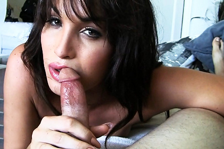 Pov Excited Jonelle Brooks giving an amazing cock sucking.